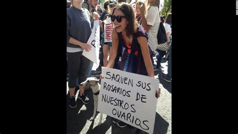 Protesters in Mexico City show solidarity with Women's ...