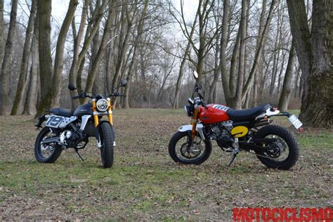 Prova Fantic Motor Caballero 125 Scrambler e Flat Track ...