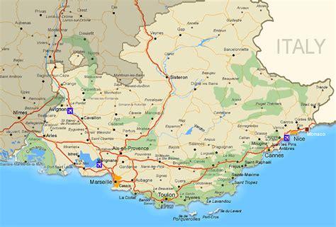 Provence » Blog Archive » Různé pěkné mapy Provence ke stažení