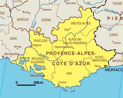 Provence France Map - Free Printable Maps