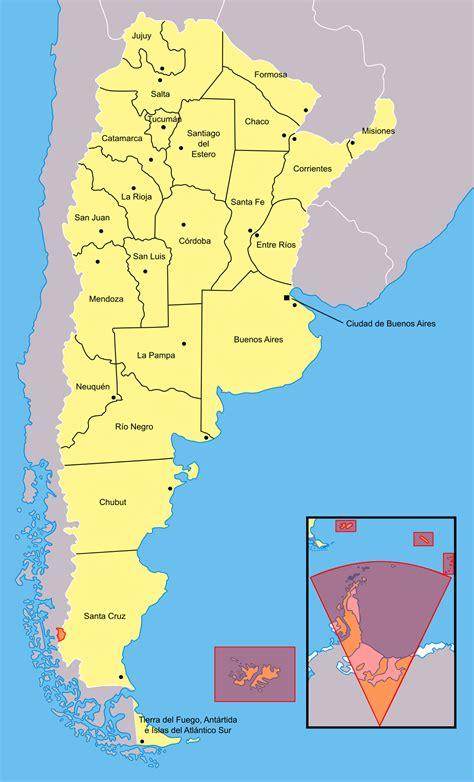 Provincias de Argentina - Wikipedia, la enciclopedia libre