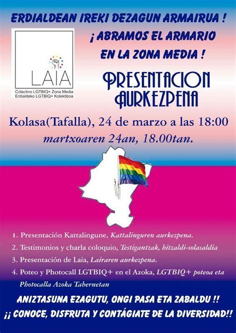 Próxima presentación de LAIA, colectivo LGTBIQ+ de la Zona ...