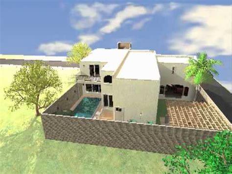 Proyecto casa habitacion  planta baja    YouTube