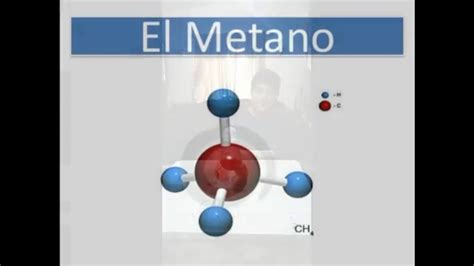 Proyecto de química,maqueta de la molecula CH3(metano ...