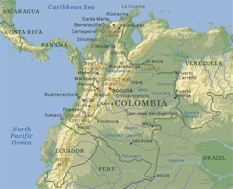 Proyecto Ensayo Hispánico: contexto geográfico, Colombia