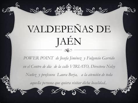 Proyecto final Valdepeñas de Jaén.