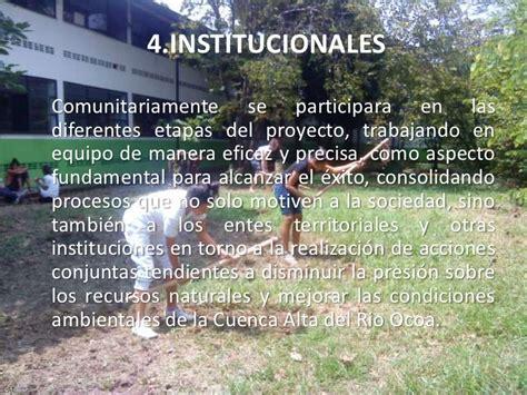 Proyecto vivero forestal institucional