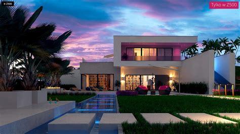 Proyectos de Casas | Casa Moderna con Piscina ...