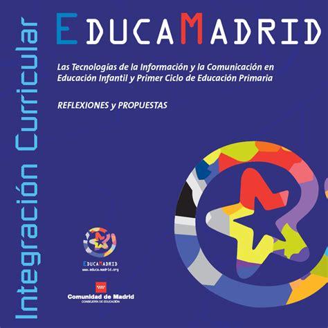 Proyectos TIC Infantil y Primaria   EducaMadrid