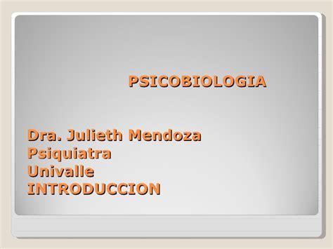 Psicobiologia y Anatomia
