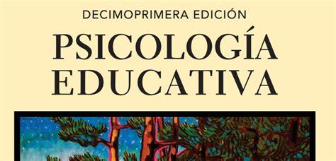 Psicología Educativa por Anita Woolfolk en PDF   Instituto ...