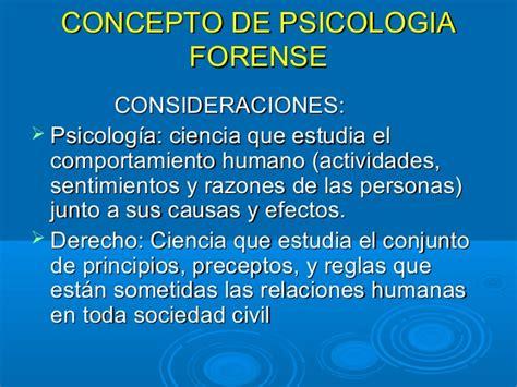 Psicologia forense