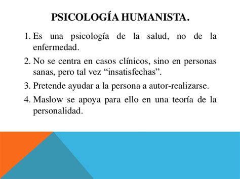 Psicologia Humanista de Abraham Maslow