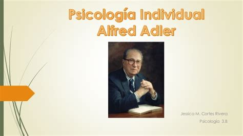 Psicologia individual.