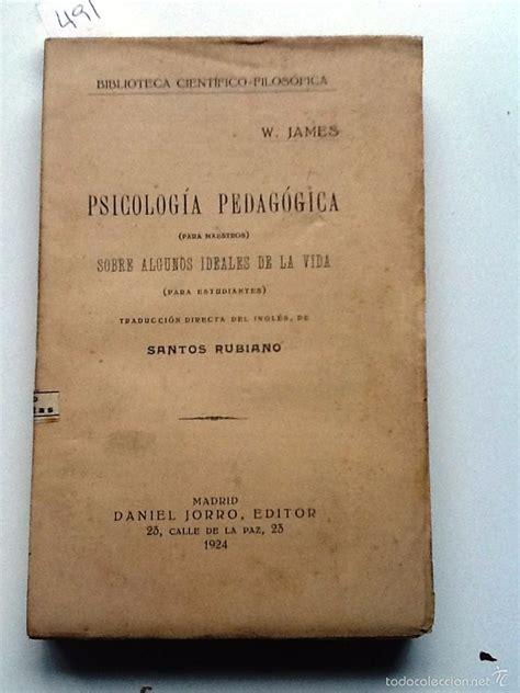 psicologia pedagogica para maestros. 1924 w. ja   Comprar ...