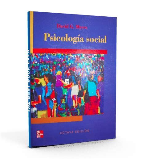 Psicología social – David Myers – PDF #psicologia #social ...