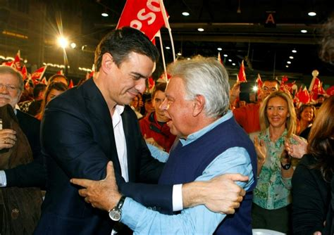 PSOE: Pedro Sánchez y Felipe González inician un ...