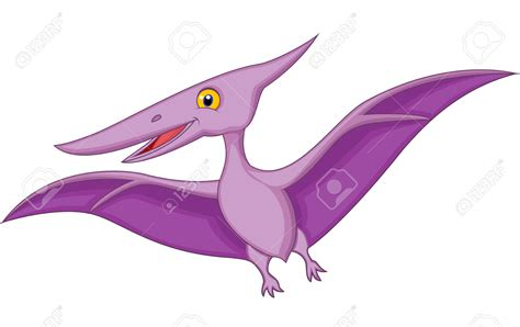 Pteranodon clipart pterodactyl   Pencil and in color ...