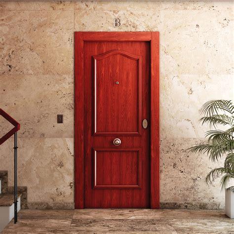 Puerta de entrada Acorazada semiprovenzal sapelly Ref ...