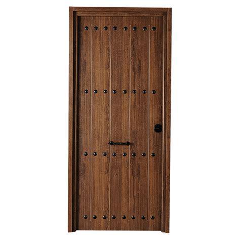 Puerta de entrada metálica Metálica rústica roble viejo ...