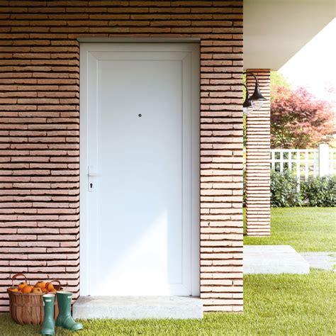 Puerta de entrada PVC PVC Sevilla blanca Ref. 16777201 ...