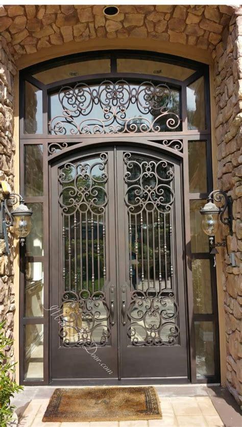 Puerta de hierro moderna - diseños modernos con hierro ...