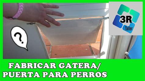 Puerta para perros / gatera BARATA y casera   YouTube