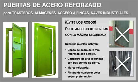 Puertas de acero reforzado para trasteros - CERRAJEROS DE ...