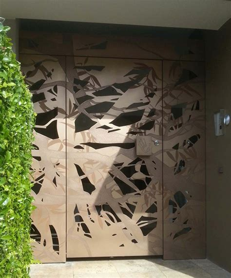 Puertas de entrada de diseño moderno   49 modelos