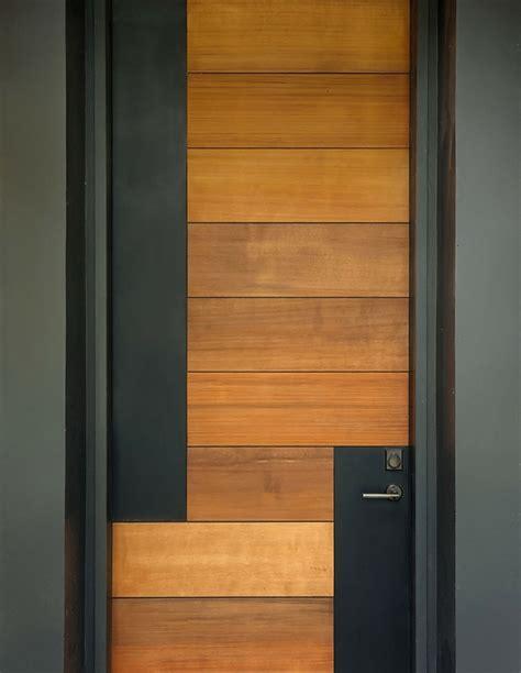 Puertas de entrada de diseño moderno - 49 modelos