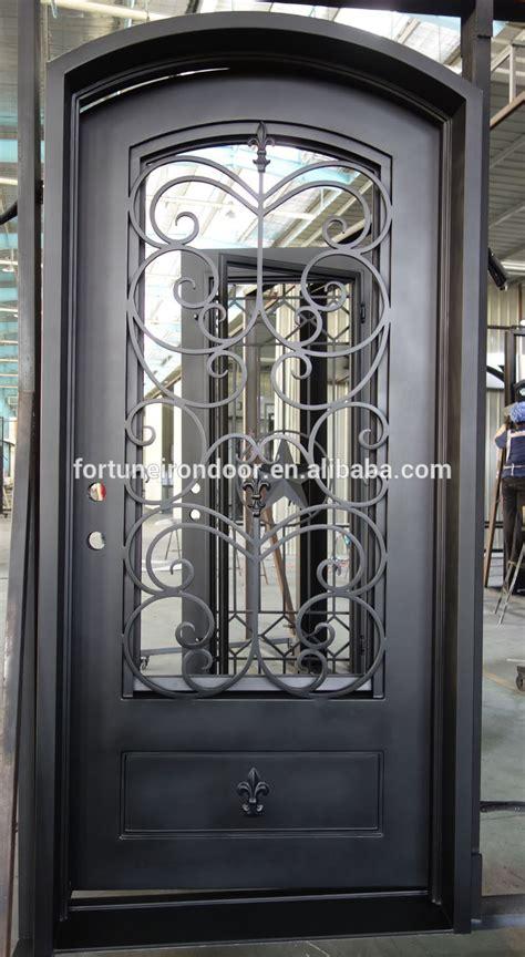 Puertas de hierro forjado para exteriores – Materiales de ...