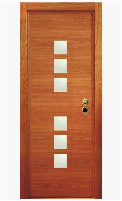 Puertas de madera con vidrio | Neolife Security
