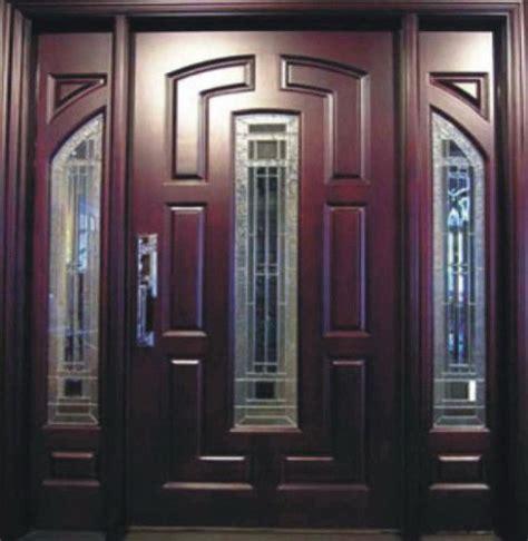 Puertas de madera entrada principal