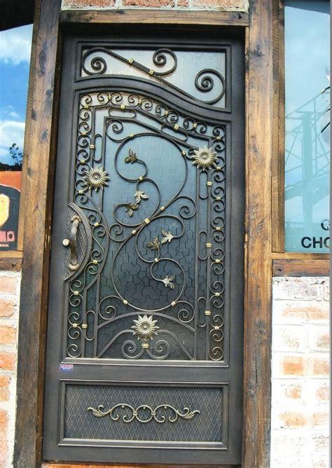 puertas en hierro forjado   Buscar con Google | puertas y ...