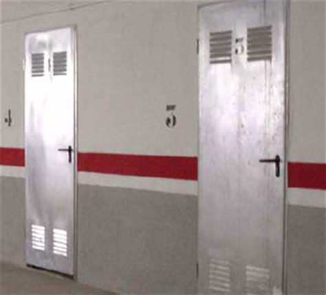Puertas ensambladas de trastero | Puertas cortafuegos RF