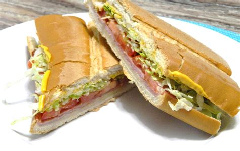Puerto Rican Pressed Sandwich or Sandwich Criollo made by ...