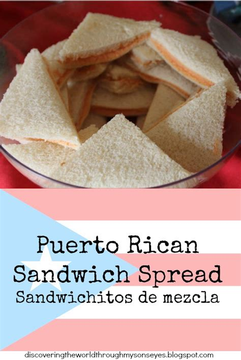 Puerto Rican Sandwich Spread (Sandwichitos de mezcla ...