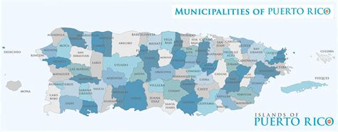 Puerto Rico Municipalities Map & Info   Cities ...