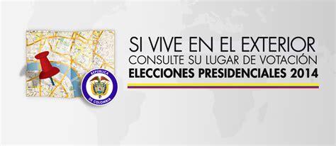 Puestos de votación en el exterior para las elecciones ...