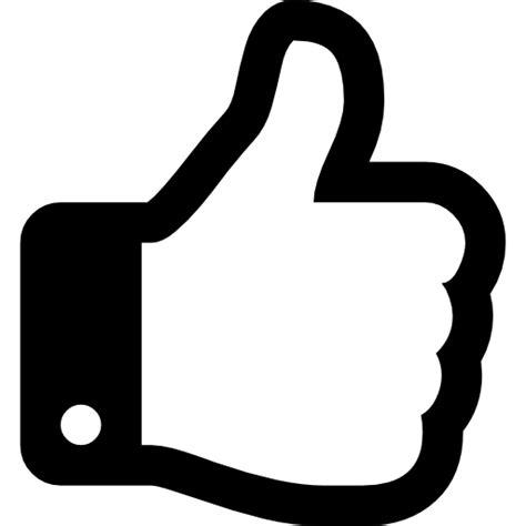 Pulgar hacia arriba   Iconos gratis de signos