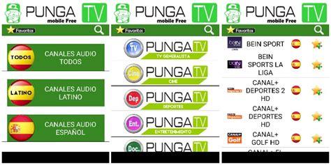 Punga TV, ver Tv Online Gratis España y Latinoamérica