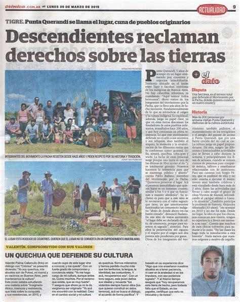 """Punta Querandí en """"Crónica"""": Descendientes reclaman ..."""