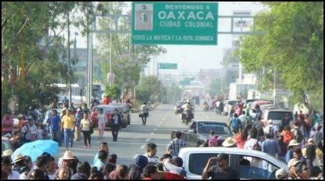 Puntos de bloqueo para el día de hoy – Oaxaca Noticias
