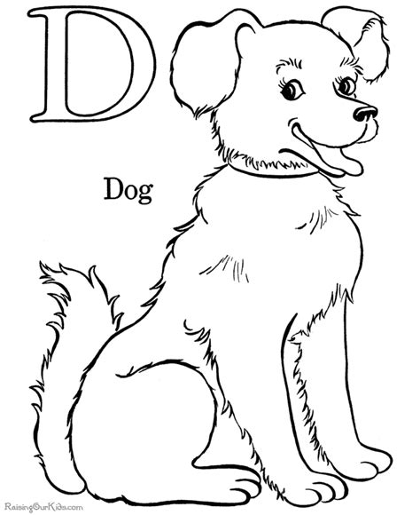 Puppy and Dog coloring pages!