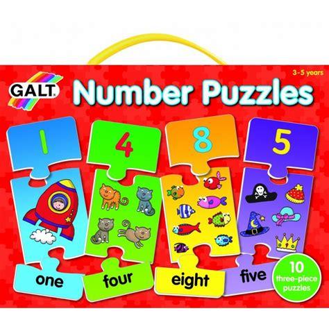 Puzzle de números en inglés