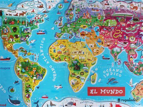 Puzzle magnético Mapa mundi gigante en Regalador.com