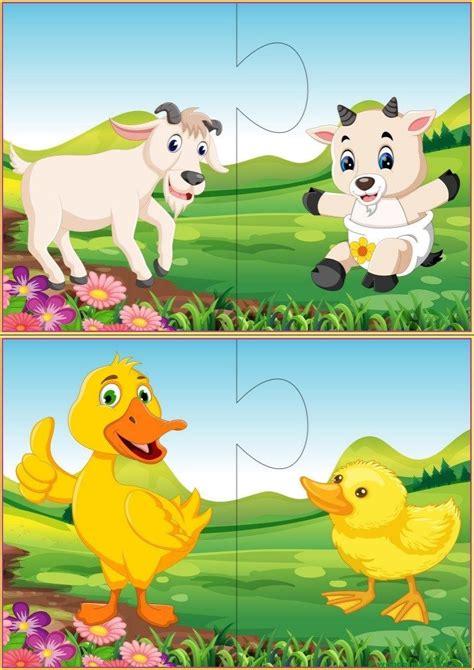 Puzzles infantiles | Puzzles infantiles, Rompecabezas y ...