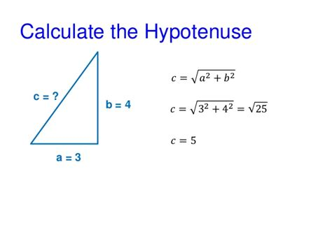 Pythagorean Theorem - Examples