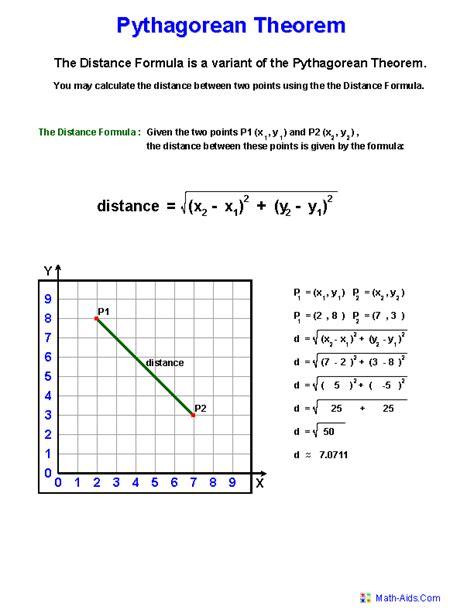Pythagorean Theorem Worksheets | Practicing Pythagorean ...