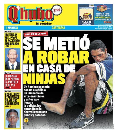 Q'hubo Cartagena 27 de noviembre de 2012 by Editora Del ...